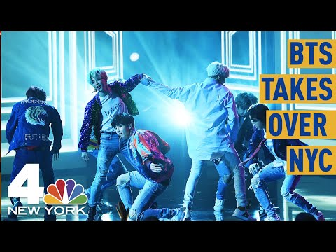 BTS Fans Explain Why They&39;re Camping out for The K-Pop Sensation&39;s Central Park Show  NBC New York