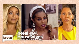Why Did Candiace Dillard Bassett Wait to File Charges Against Monique? | RHOP After Show (S5 Ep12)