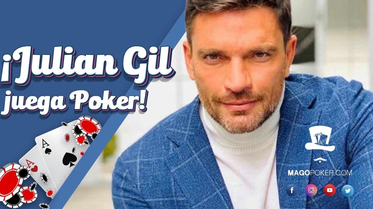 El actor y modelo Julian Gil juega poker en PokerBros.