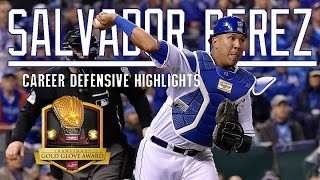 Salvador Perez Career Defensive Highlights || El Niño || ᴴᴰ