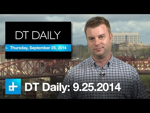 Facebook's drone plans, Sony warps reality, iPhone camera manual control - DT Daily (Sep 25)