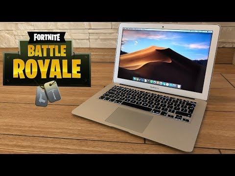 MacBook Air - Test In Fortnite