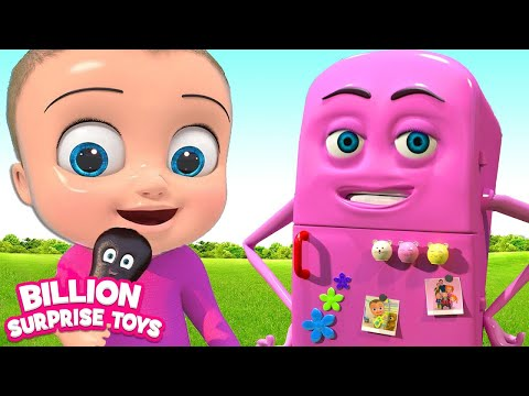 Refrigerator Friend | BST Songs For Kids