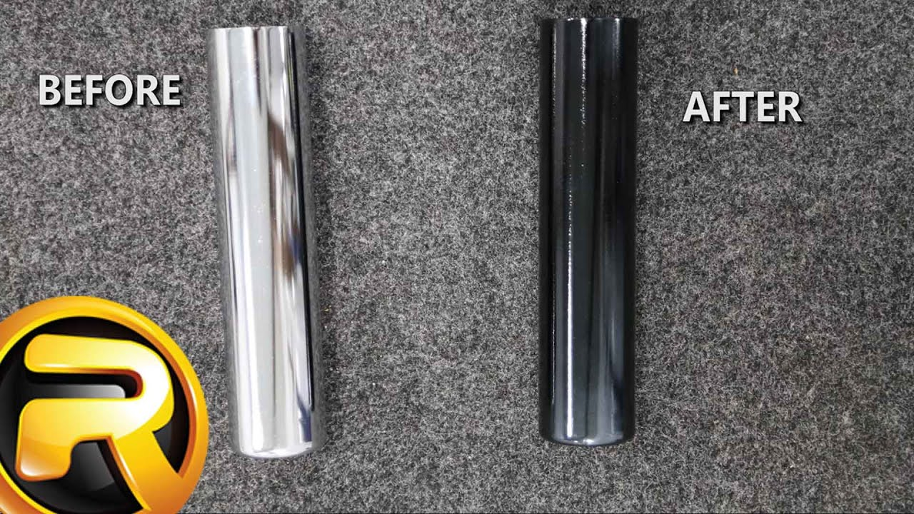 Paint Motorcycle Exhaust Flat Black