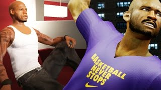 The NBA 2k16 Horsley My Career Story Ep. 7 of 10 - Rucker Park Legend! Bridges Has Demand for Lakers