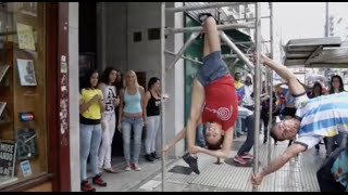 Pole dance competition in Buenos Aires, Argentina