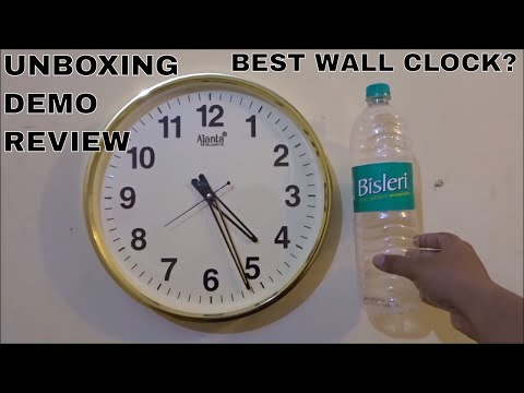 AJANTA WALL CLOCK MODEL 397