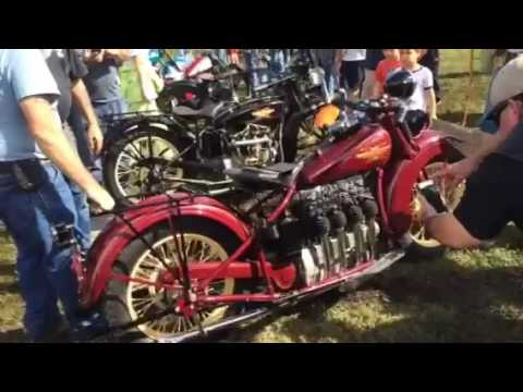 Exquisite Henderson Motorcycle