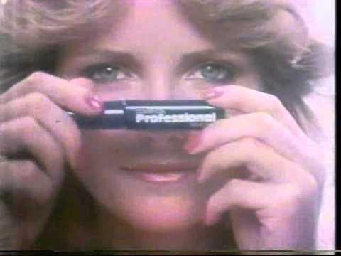 Cheryl Tiegs 1978 Cover Girl Mascara Commercial