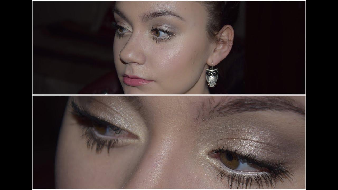 Szybki Rozświetlający Makijaż Na Czas Sesji Mała Czarna