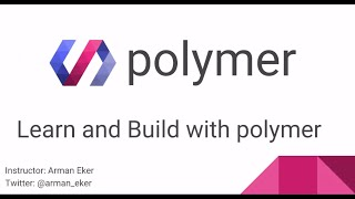 What is Polymer? part 1