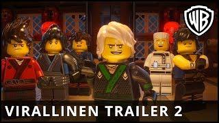 Lego Ninjago Elokuva - virallinen trailer #2