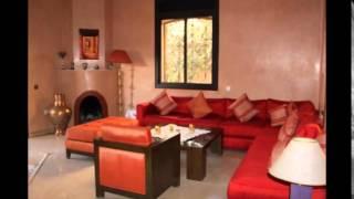 Jolie Villa A VENDRE - Quartier Targa - Marrakech - Réf : V0046CH