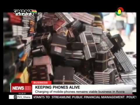 CHARGING OF MOBILE PHONES, VIABLE BUSINESS IN ACCRA