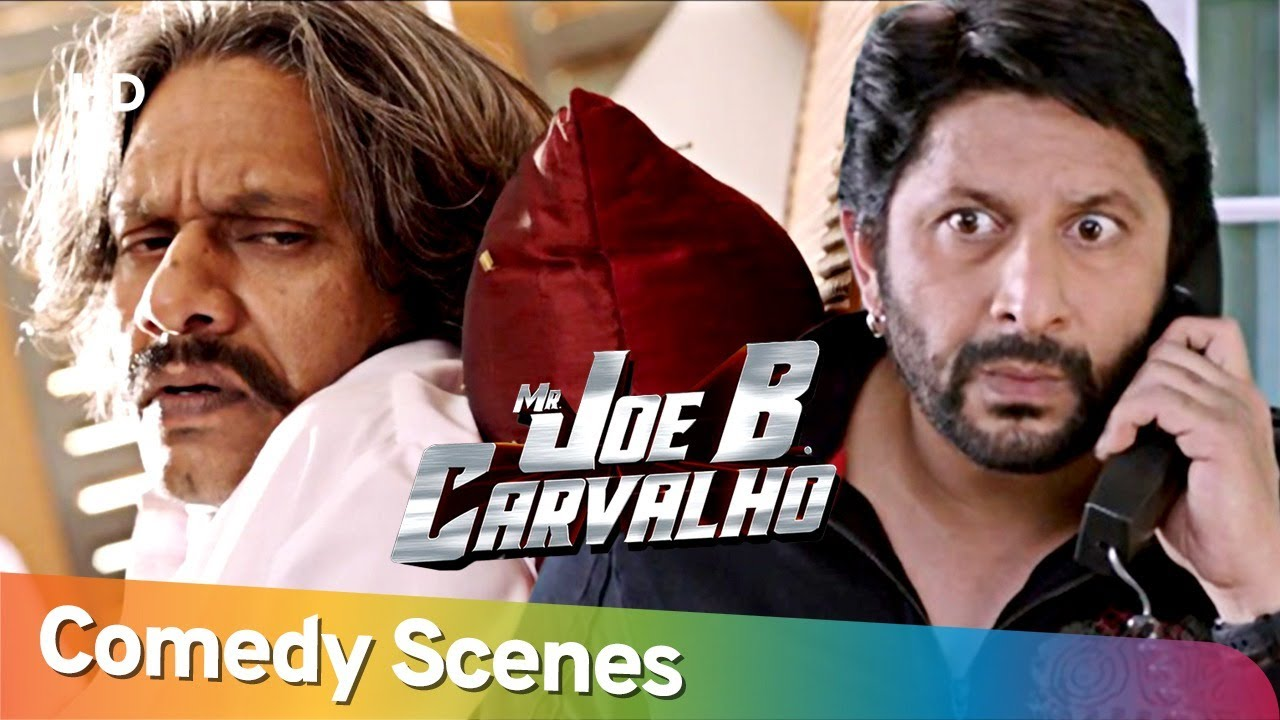 Best Comedy Scenes | Mr Joe B. Carvalho - Superhit Movie - Arshad Warsi - Javed Jaffrey - Vijay Raaz