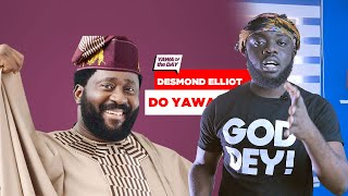 This Is Why Desmond Elliot Is Trending On Ghana Twitter!