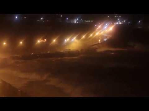 Huge waves in Douglas, Isle of Man 16-10-2017 Ex-Hurricane Ophelia