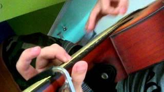Chiếc lá đầu tiên guitar cover
