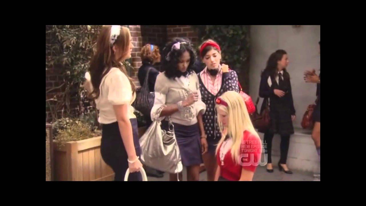 Gossip Girl S02E07 clip - Blairu0026#39;s Disciplinary Hearing - YouTube