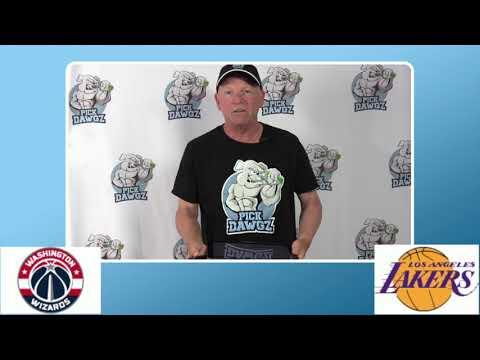 Los Angeles Lakers vs Washington Wizards 7/27/20 Free NBA Pick and Prediction NBA Betting Tips