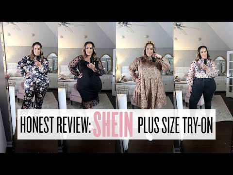HONEST PLUS SIZE SHEIN TRY-ON #SHEIN #PLUSSIZE #TRYON