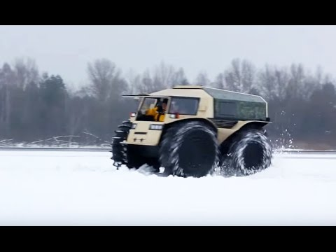 Unstoppable: Russian ATV Can Swim, Climb, Drive Anywhere