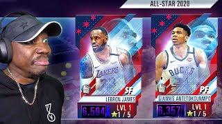 Pulling FIRE ALL-STAR Players In PACK OPENING! NBA 2K Mobile Season 2 Ep. 18