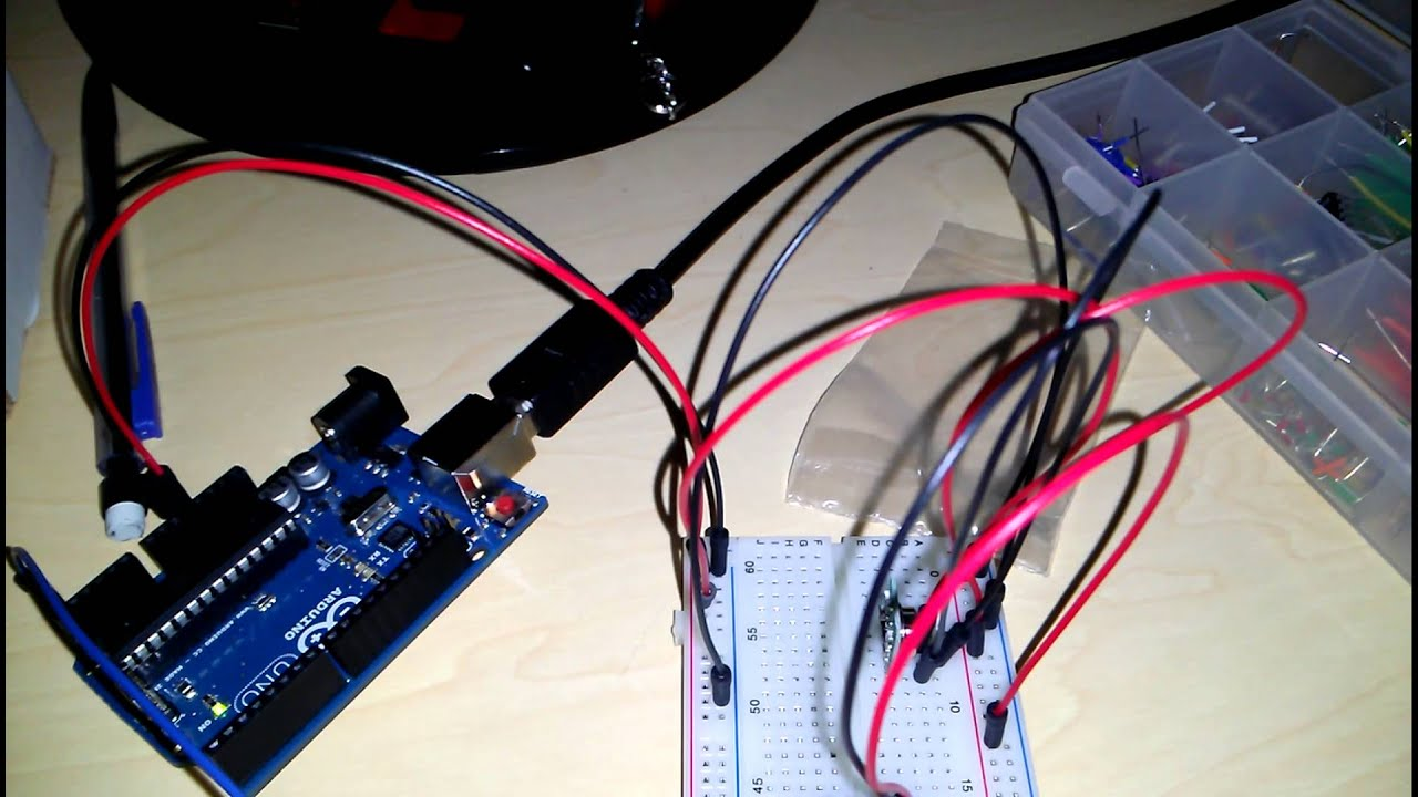 Simple RF transmitter & receiver circuit with Arduino
