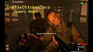 Call of Duty World at War   Custom Map #45   ZombieChickenTaco: Desert Shack   #1