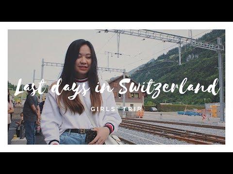 Girls' Trip   Tasting original GRUYERE CHEESE 🧀 , Switzerland🇨🇭Du học sinh Thuỵ Sĩ   C'lavie Tran