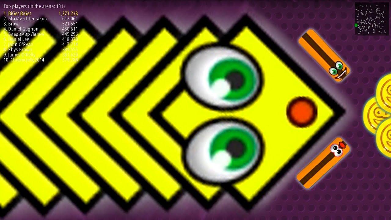 WormsZone.io 2,065,000 +Score Giant Slither Snake Top 01 /Best World Record WormsZoneio #79