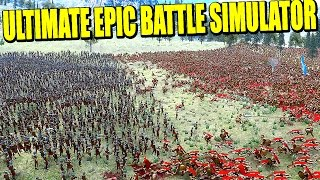 NUKE, RAMBO, LEÓNIDAS Y 100.000 GUERREROS - ULTIMATE EPIC BATTLE SIMULATOR