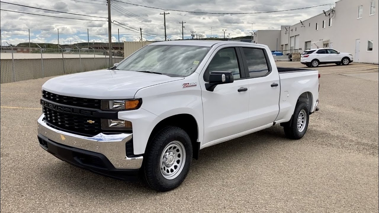 2020 Chevrolet Silverado Wt Review Youtube