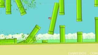 Прикол - Чак Норрис против Flappy Bird