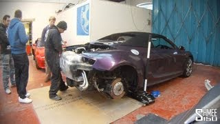 Shmeemobile R8 V10 Quicksilver Exhaust - Installation and Teaser