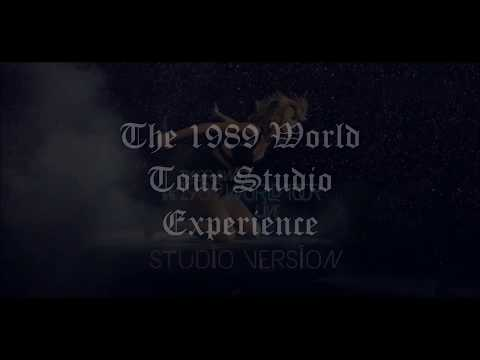 The 1989 World Tour Studio Experience Trailer! by Haginesh Dash + DL For Album Art & Setlist