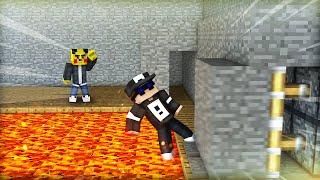 DOPPEL SPIEGEL FALLE 🔲 | TRAP KING #90 (Minecraft)