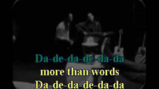Karaoke - Extreme More than words