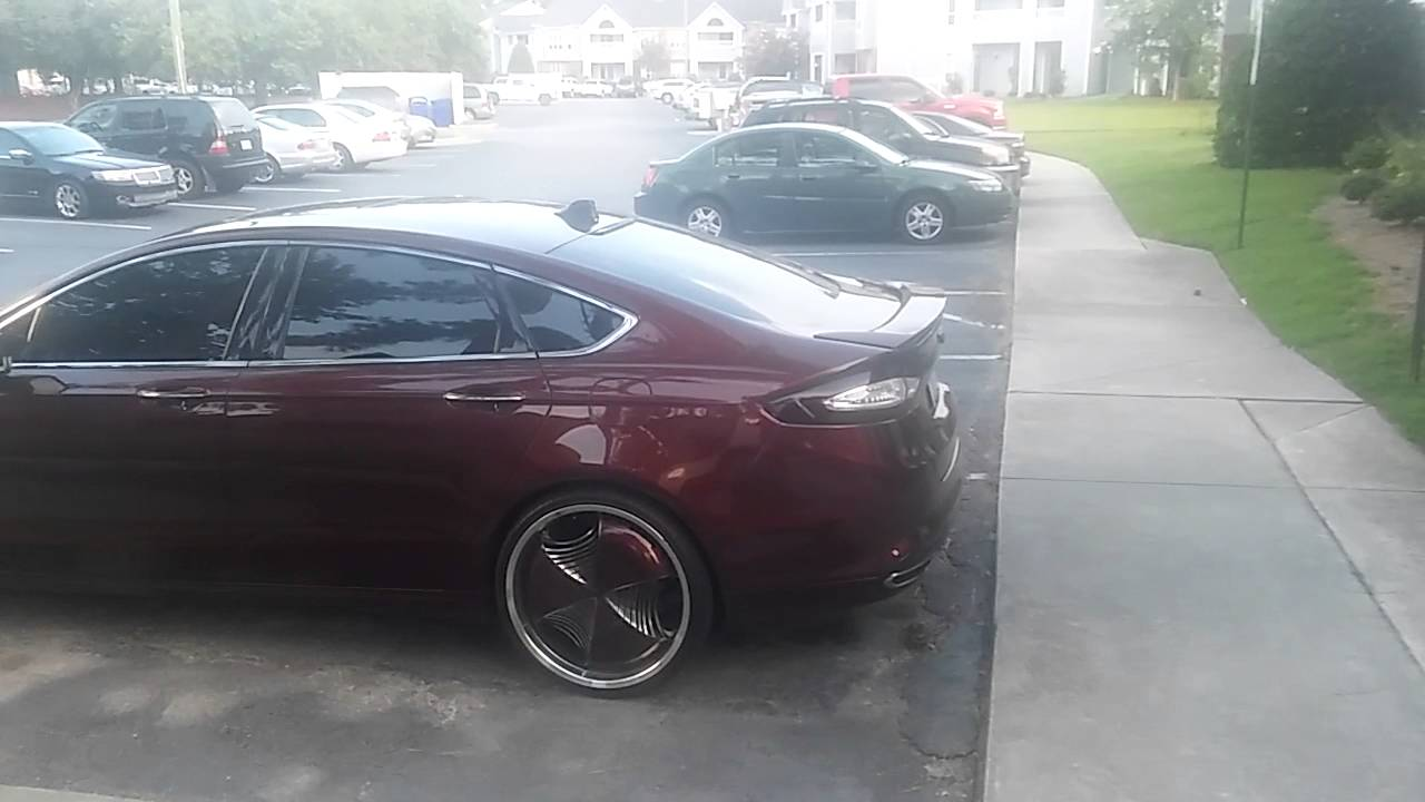 Ford Fusion On 22s >> Udontkno Youtube