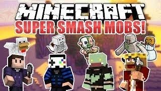 Minecraft SUPER SMASH MOBS! mit GLP, Zombey & MrMore  | ungespielt