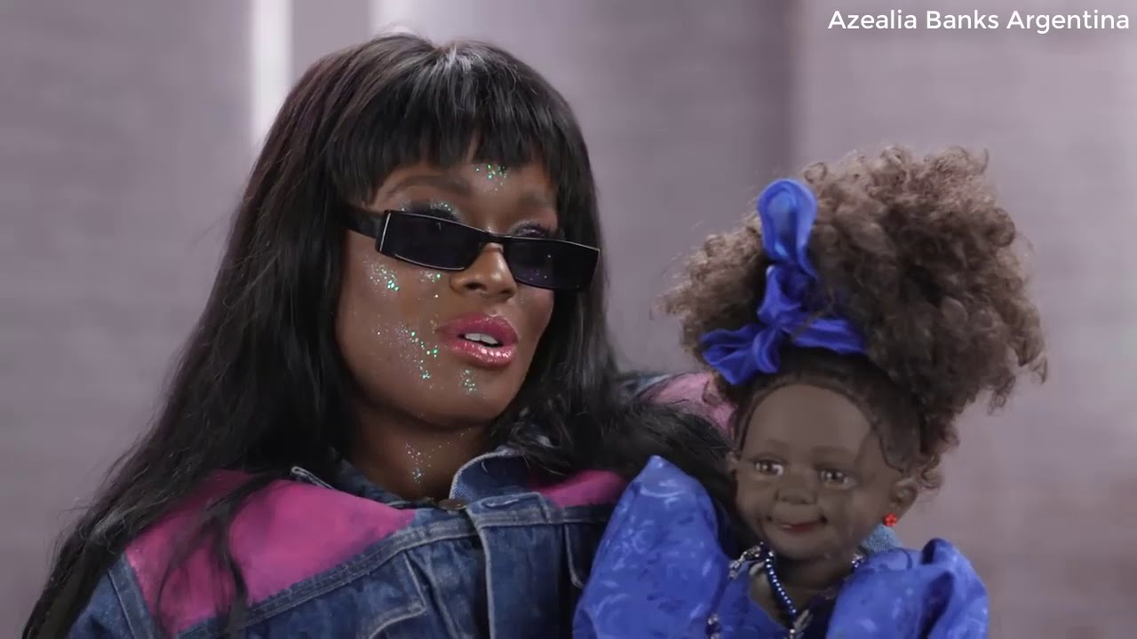 Azealia Banks en MTV News (Subtitulado en Español)