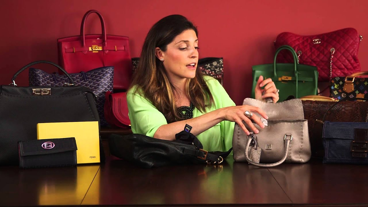 2d780d4e81f2 How to Spot a Fake Fendi Bag  Part 02 - YouTube