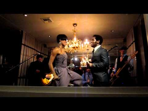 Vintage Trouble / Baby Baby - Get It On - Reina Hidalgo & Ty Tyalor Live at Tar Pit / Los Angeles