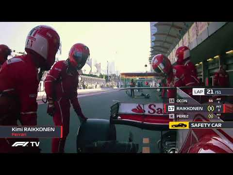 F1 INSIDE TRACKS Azerbaiyán 2017