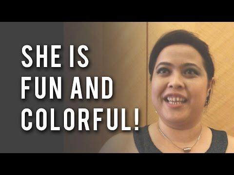 """Female Emcee"" by @DonnaDaniels of DonnaDaniels.com   Singapore   Malaysia   KL"