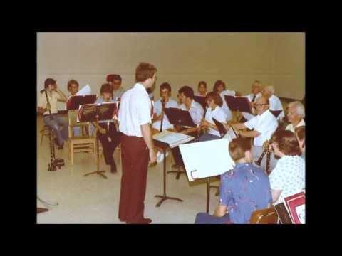 OU Clarinet Choir at the 1982 International Clarinet Congress, Stephen Clark, E-flat Clarinetist