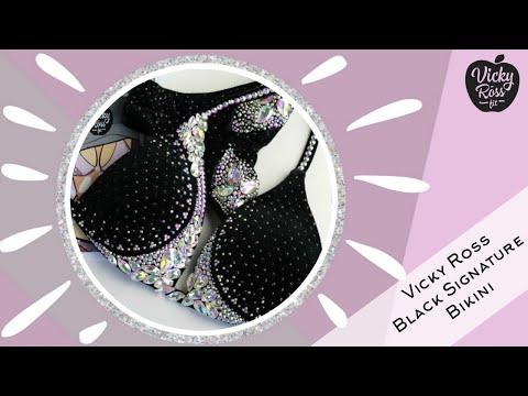 Crystal Bikini Suit | competition ifbb / npc | Vicky Ross Fit thumbnail