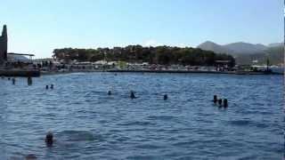 Croatia Dubrovnik, Copacabana Beach - Хорватия Дубровник, пляж(Пляж как пляж. Не самый лучший в Хорватии., 2012-08-30T19:03:10.000Z)