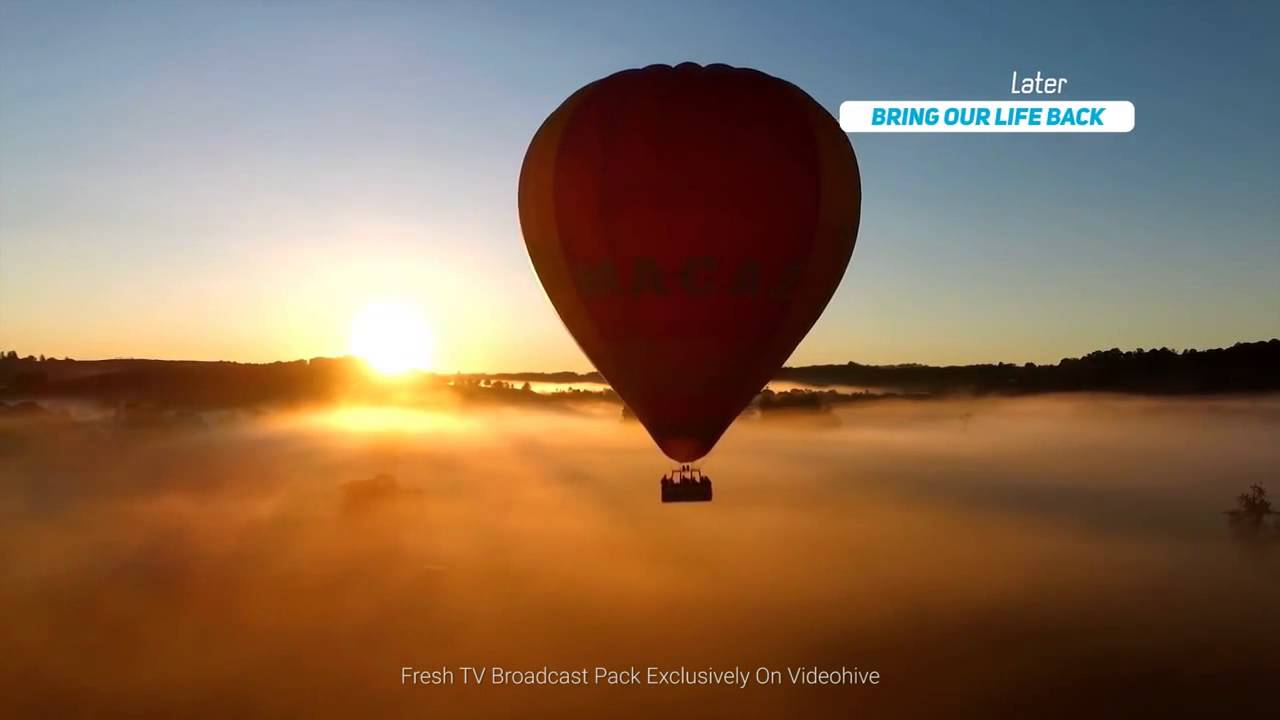 Fresh TV Broadcast Pack - After Effects template from Videohive