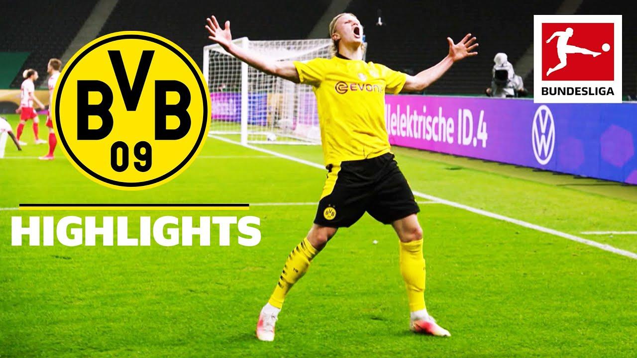 Borussia Dortmunds Season Highlights 2020/21 - Haaland Magic & DFB Cup Triumph